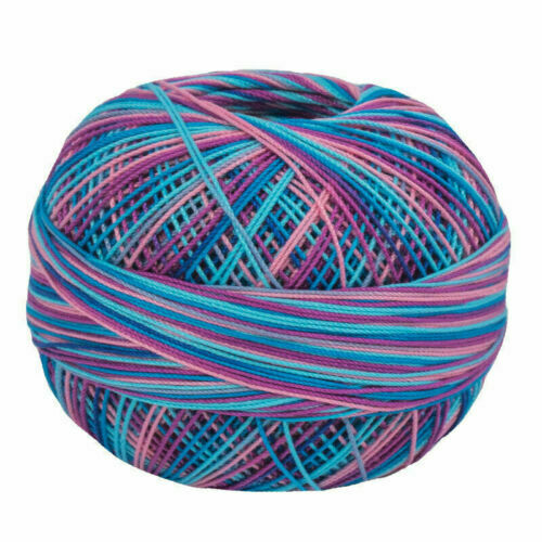 Lizbeth Egyptian Cotton Crochet Thread Size 20 Color 130 Island Breeze
