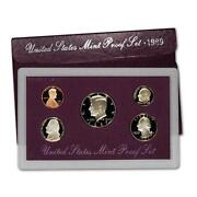 1989 US Mint Proof Set