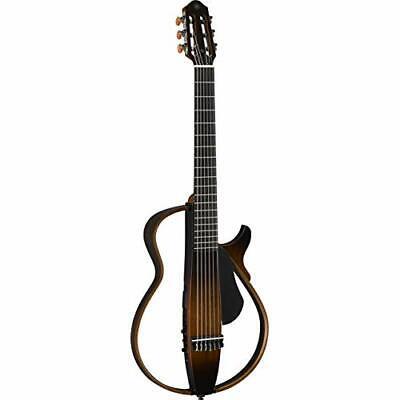 YAMAHA Silent Acoustic Guitar Nylon Strings Brown SLG200N TBS EMS w/Tracking NEW, usado comprar usado  Enviando para Brazil