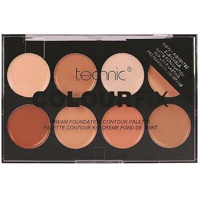 Technic Colour Fix Cream 8 Colour Foundation Contour Palette BESTSELLER (055)