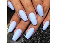 Acrylic nails,Uv Gel nails,shellac,mani,pedi,tinting,waxing