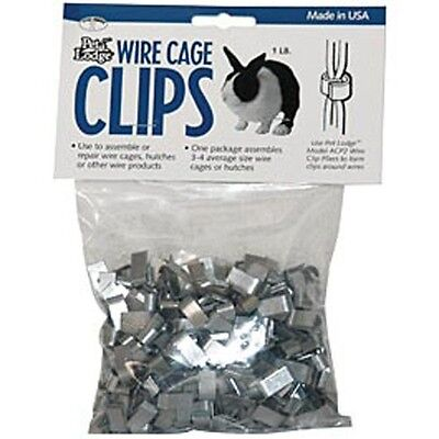 Cage Clips (J Clips)  Pens Fences Repair Build JEFFERS LIVESTOCK Poultry Rabbit