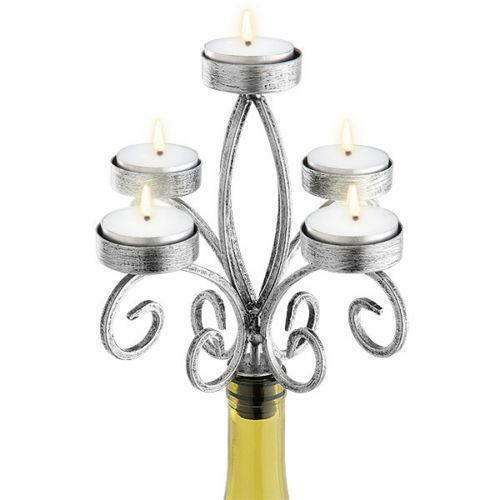 Wine Bottle Candelabra Candle Holders Accessories Ebay