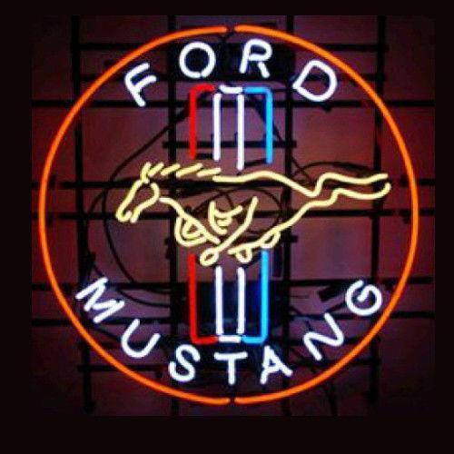Ford Neon Light Sign Ebay