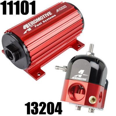 AEROMOTIVE 11101 13204 A1000 ELECTRIC FUEL PUMP REGULATOR CARB COMBO BEST PRICE