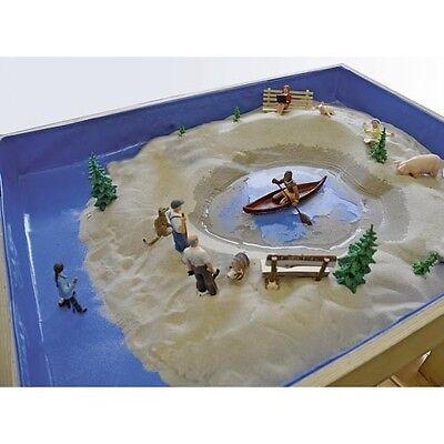 Folieneinlage f. passenden Sandspieltherapie Sandkasten (59200)Moonsand Sandtray