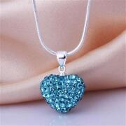 Silver Heart Shaped Necklace