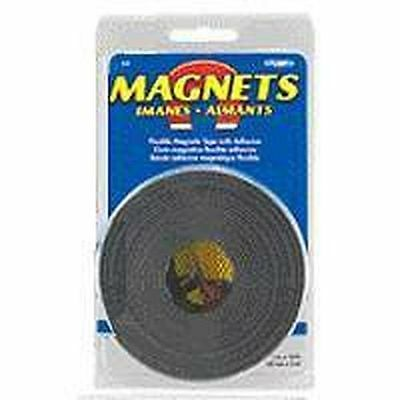 New Master Magnetic 7053 1 X 30 Adhesive Magnet Roll Flexible 5883798