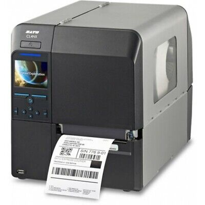 New Sato Cl408nx Industrial Barcode Thermal Transfer Label Printer Wwcl00061