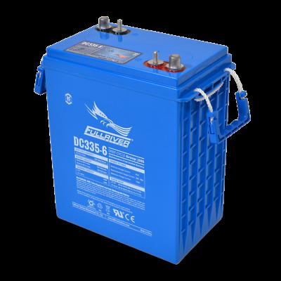 BAFRDC335-6 Fullriver Full Force AGM Deep Cycle Batteries 335AH/6V Quantity 1