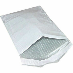 "100 4"" x 8"" Self Sealing Padded Bubble Lined Envelopes Mailers"