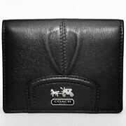 Small Black Coach Wallet