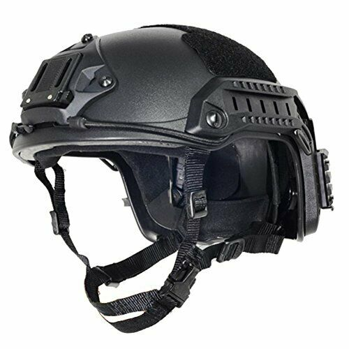 Adjustable Comfortable Free Size Airsoft & Paintball Tactical Security Helmet