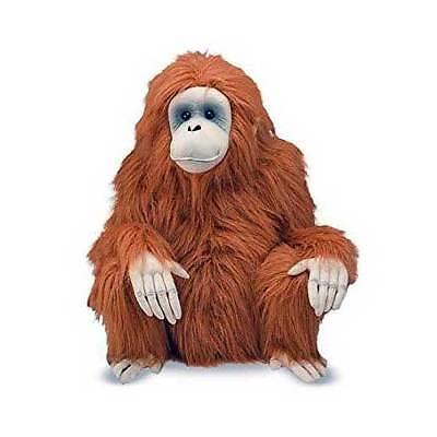 Large Orangutan Plush Stuffed Animal Melissa and Doug New ()