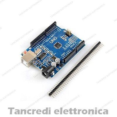 SCHEDA UNO R3 ATmega328 CH340 Board Arduino clone BARRA PIN CH340G compatibile