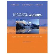 Intermediate Algebra Bittinger