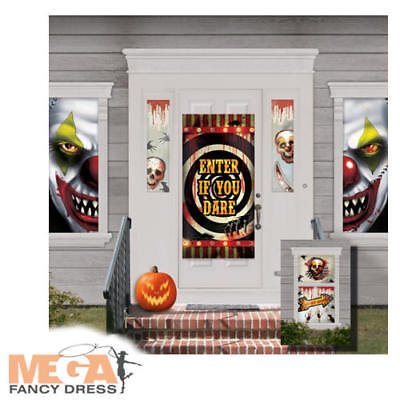 Creepy Carnival Horror Scene Setter Halloween Costume Party Decoration Kit - Creepy Carnival Costumes