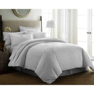 New Premium quality Cotton Tencel Grey Quilt Cover set Rowville Knox Area Preview