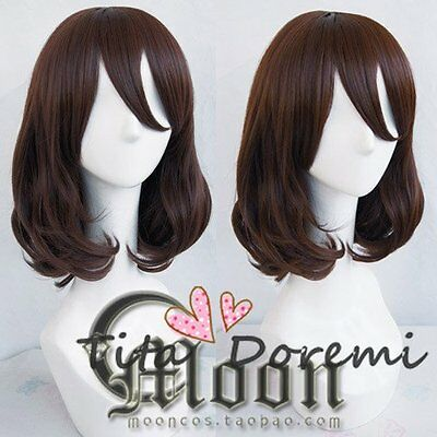 Halloween Wig Cosplay Dream world and 100 sleeping princes brown/ Short Hair - Public Dreams Halloween