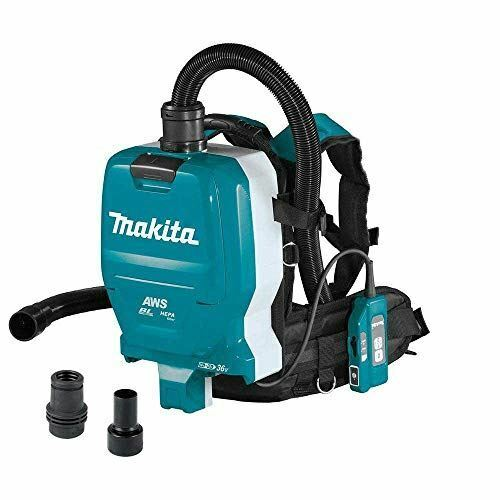 Makita XCV10ZX 18V X2 LXT Lithium-Ion (36V) Brushless Cordless 1/2 Gallon HEPA F