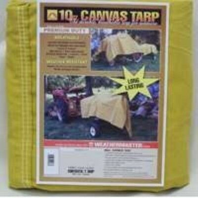 Canvas Tarps, 12' x 14' 10 Oz