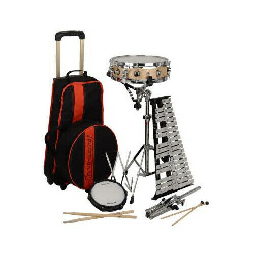 LUDWIG/VIC FIRTH Combination Bell & Snare Drum School Kit LE2483RBR