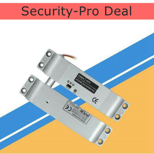 DC12V Electric Drop Bolt Lock NC Fail-Safe for Door Access Control System USA