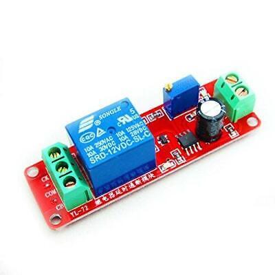 Hiletgo Ne555 Dc 12v Delay Timer Switch Adjustable Module 0 To 10 Second