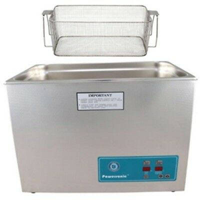 Crest P2600h-45 Ultrasonic Cleaner-heat Timer-mesh Basket