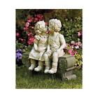 Boy and Girl Statues