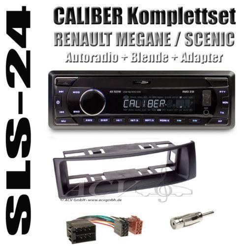 autoradio renault megane radios dvd player wechsler ebay. Black Bedroom Furniture Sets. Home Design Ideas