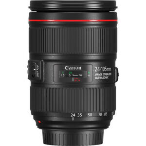 Canon Eos 24-105MM F4L II Usm Lens for Ef system