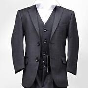 Boys Dark Grey Suit