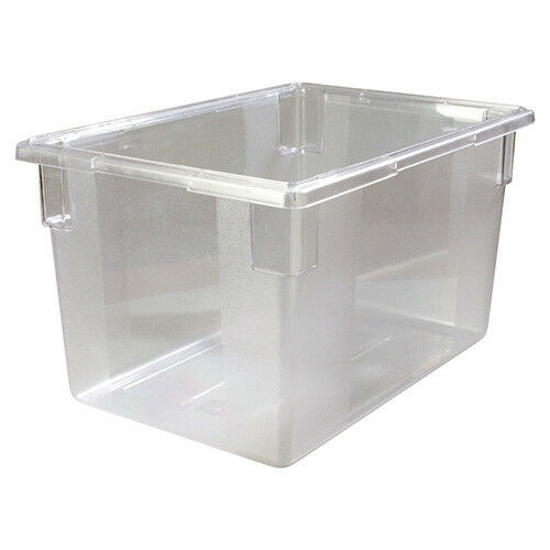 Carlisle 10624407 StorPlus Food Box - 21 1/2 Gallon, Full-Size, Clear