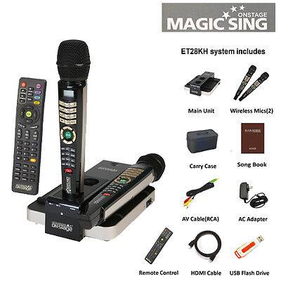 2017 Magic Sing ET28KH OnStage Limited Edition with 5145 Tagalog-English songs