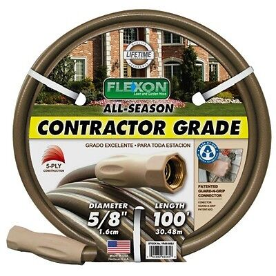 New Flexon 100′ All-Season Contractor Grade Hose – Gardening Tool – Water Hose