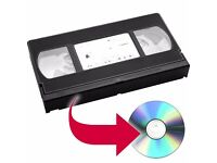 VHS Tape to DVD Conversion