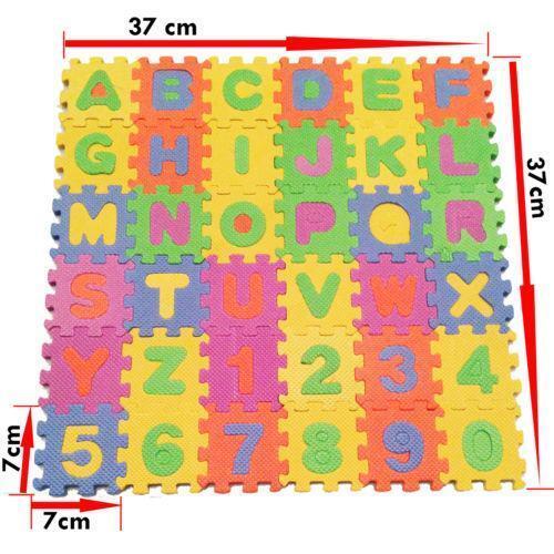 Alphabet Floor Puzzle Ebay