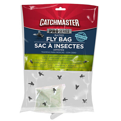 8 Catchmaster Disposable Fly Bag Traps Control House Flies With No Insecticides