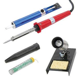 UK-Soldering-Iron-Kit-Stand-Solder-Desolder-Pump-Sucker