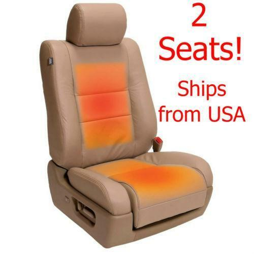 Carbon Fiber Universal Heated Seat Heater Kit Car Cushion: Universal Carbon Fiber Heated Seat Heater Kit