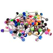Tongue Rings Lot