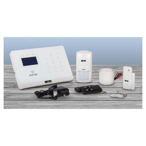 Alarmanlage AS-300 Alarm System Funk GSM Mobilfunknetz Sensoren RFID