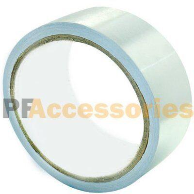 26 Ft X 1.88 Aluminum Foil Heat Shield Tape Hvac Heating Ac Sealing Adhesive