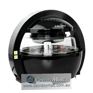 13L Oil Free Cooking Air Fryer 1300W Black/White Sydney City Inner Sydney Preview