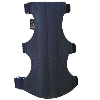 . 15cm LONG X 7cm WIDE CAROL TARGET ARCHERY ARM GUARD SUEDE LEATHER AG214B