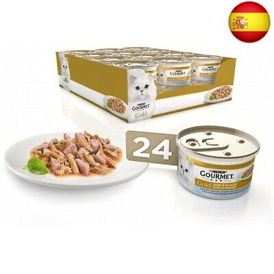 Purina Gourmet Gold Doble Placer comida para gatos de Pescado del Oceano...
