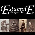estampe vintage art