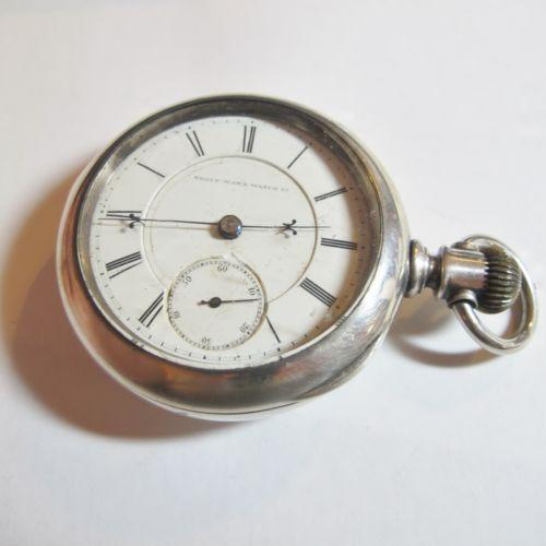 vintage elgin pocket silver ebay