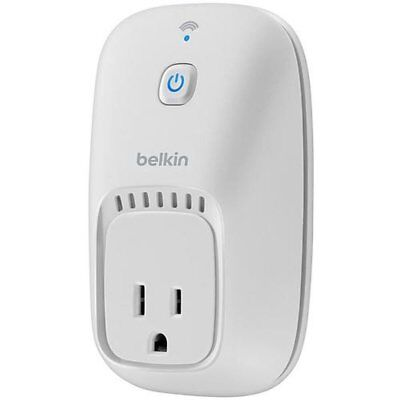 Belkin WeMo Automatic Light Switch Power Outlet WIFI ENABLED SMARTPHONE ANDROID
